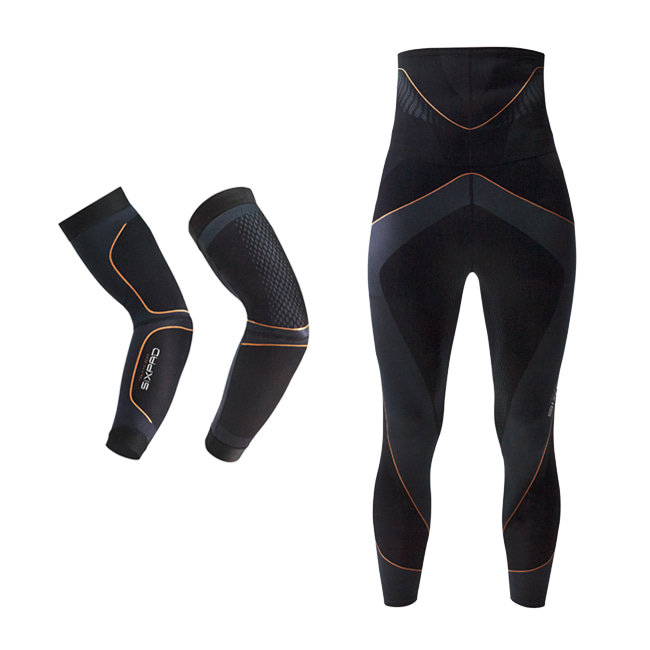 SIXPAD Training Suits Arm & High Waist Tights  set
