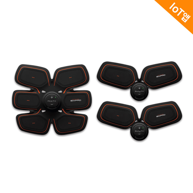 SIXPAD Abs & Twin Body Set 2
